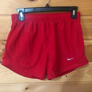 Nike Drifit Red Shorts